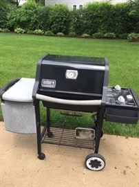Nice Weber grill