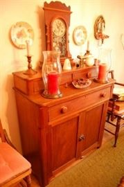 Nice Antique Kentucky Walnut Buffet