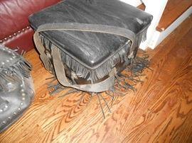 Harley fringed seat
