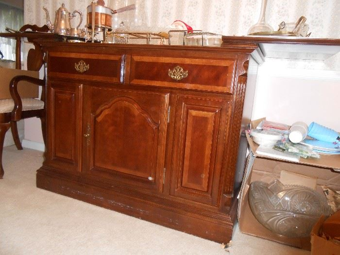 Extremely nice buffet with fold out sideboards
