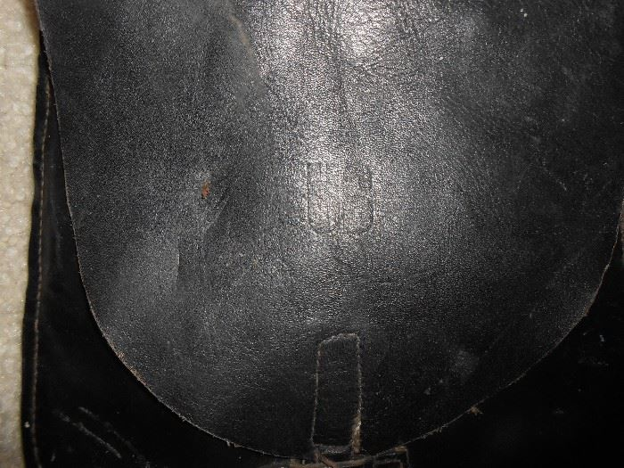 US also stamped on the small saddle