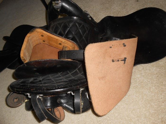 Very sturdy leather used to make this saddle