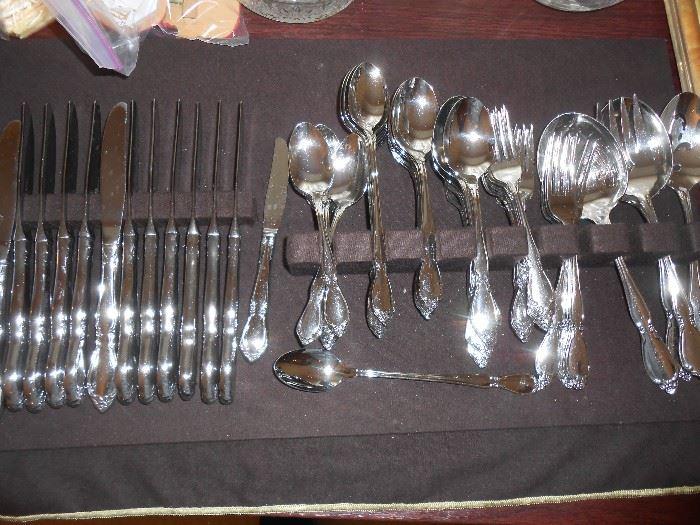 74 pc. silverware set - unnamed