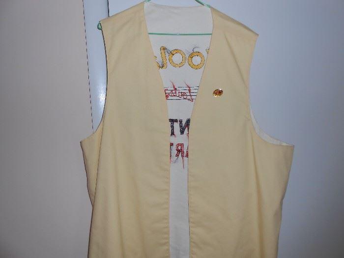 Moolah St Louis Mo Chanters Quartet vest - 1 pin