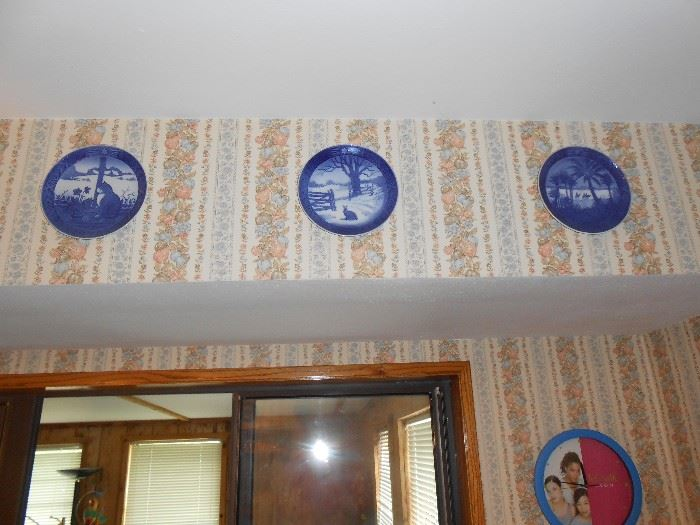 B & G Denmark plates