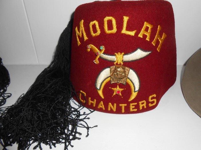 Moolan Chanters hat