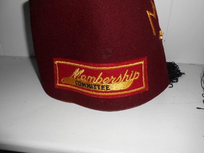 Moolah Membership committee hat
