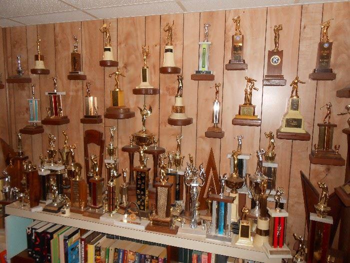 Numerous trophies