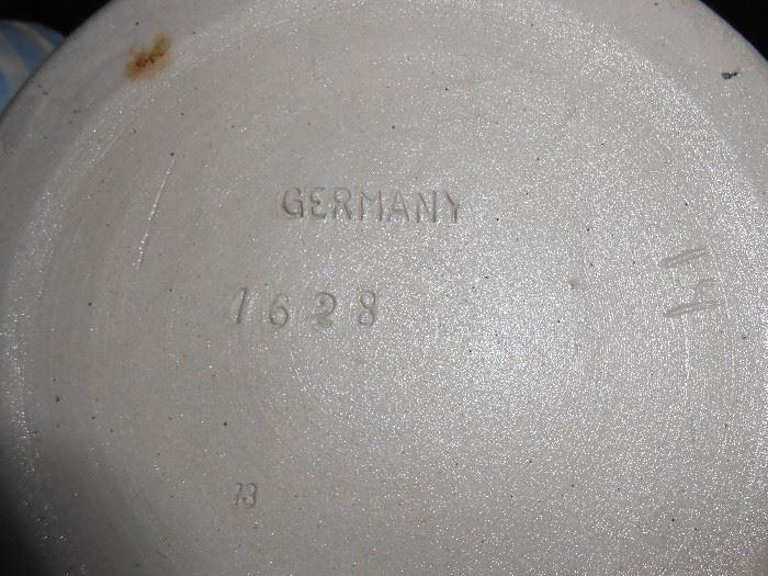 Germany 1628 stein markings