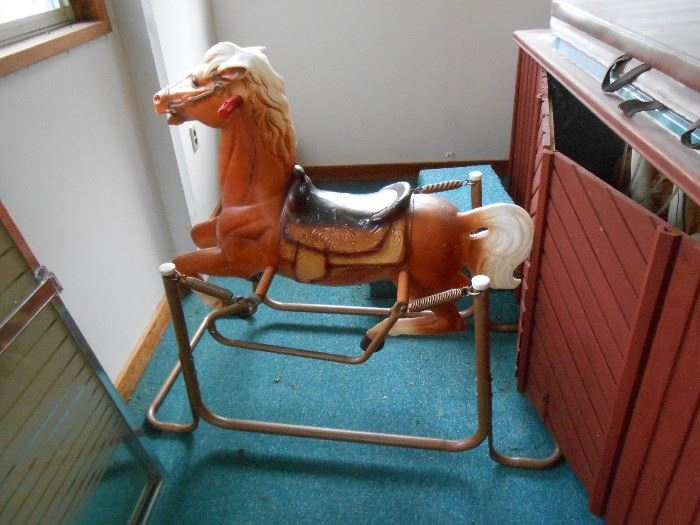 Rocking horse in great condition!