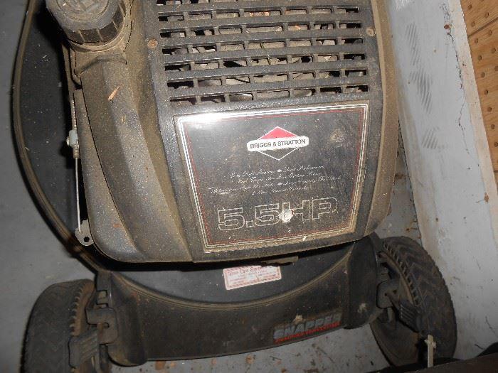 5.5 HP mower