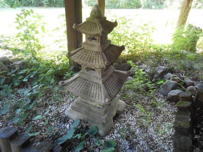 Under the deck Pagoda
