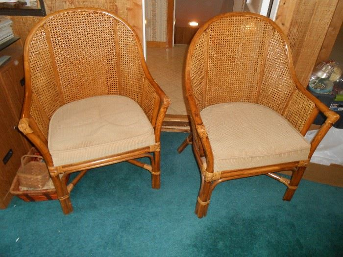 We have (40 of these rattan chairs all in good condition