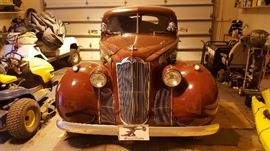 Restored 1940 Packard 110 4 Door