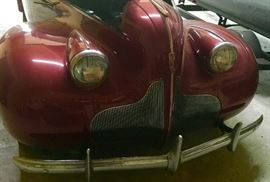 1939 BUICK BUSINESS COUPE. ORIGINAL STRAIGHT 8 RUNNING ENGINE. WILL NEED BRAKES ATTENTION.
