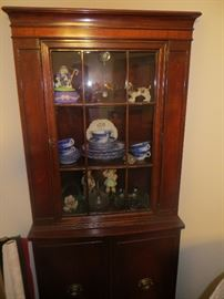 Beautiful antique corner cabinet