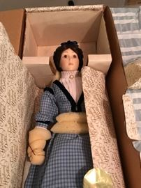 Meg - Little Women Franklin Heirloom Dolls
