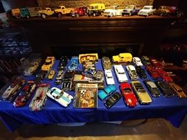 Over 100 diecast cars