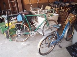 Bikes, Garage Items