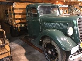 1937 Ford 1 1/2 Ton Stake Truck