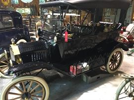 1915 Model T Touring Coupe