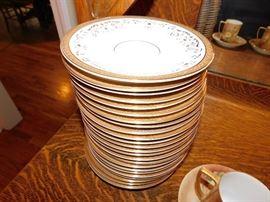 set of royal dalton saucers