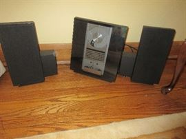 Bang and Olufsen sound system