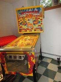 Wizard pinball machine