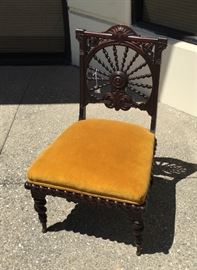 Victorian Mahogany Barley Twist Side Chair