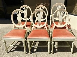 Set of 6 Edwardian Dining Room Chairs