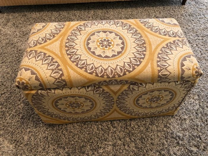 Smaller matching ottoman