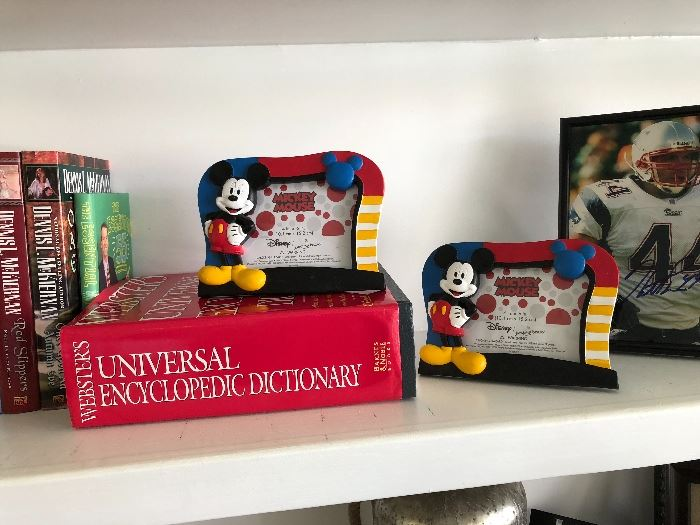 Mickey Mouse frames