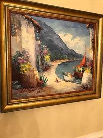 Large original paintings