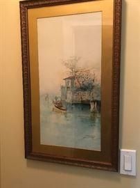Original watercolor & MORE