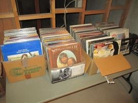 Over 350+ LPs