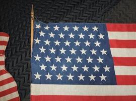 49 Star Flag Detail