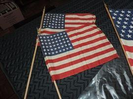 48 Star Parade Flags