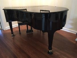 8. Tokai Black Lacquer Baby Grand Piano, #31266