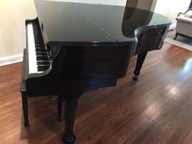 8. Tokai Black Lacquer Baby Grand Piano, #31266