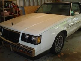 1986 Buick, Regal, T, Type, one owner, garage kept