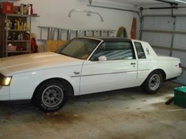 1986 Buick ,Regal, T, Type, 107,000 miles , $ 25,000.