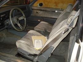 1986 Buick , interior, all paperwork