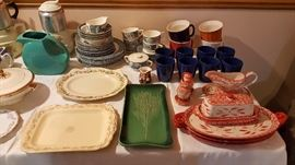 Currier and Ives dishes
