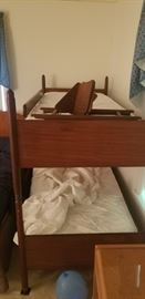 antique bunk bed