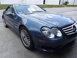 2003 Mercedes SL55