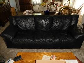 leather  sofa(as  is)