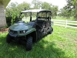 2015 John Deere Gator Utility Vehicle XUV 550 S4