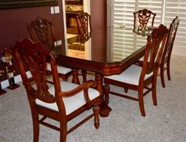 Formal Dining Room set; Table, Chairs, China Cabinet