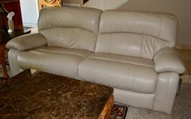 Recently Purchased Leather Sofa Set - purchased with FIVE YEAR warranty