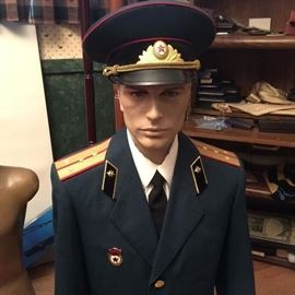 Russian uniform only one left
